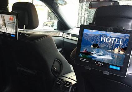 Ekrani na sjedištima